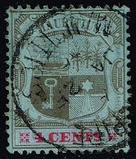 Buy Mauritius #131 Coat of Arms; Used (0.25) (3Stars) |MAU0131-01XRS