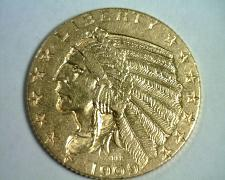 Buy 1909 FIVE DOLLAR INDIAN HEAD GOLD CHOICE ABOUT UNCIRCULATED++ CH AU++ ORIGINAL