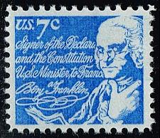 Buy US #1393D Benjamin Franklin; MNH (0.25) (4Stars) |USA1393D-08