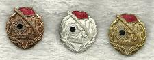 Buy Vintage Shooting Sniper Pins LOT of 3 Badges Bronze Silver Gold Marksmanship