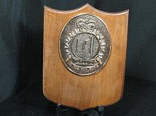 Buy Toronto City Hall Royal Canadian Military Wood Plaque Sic Nos Non Nobis Vintage