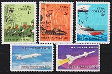 Buy KUBA CUBA [1964] MiNr 1128-32 ( **/mnh )