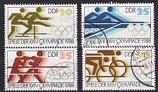 Buy GERMANY DDR [1988] MiNr 3183 ex ( OO/used ) [01] Olympiade