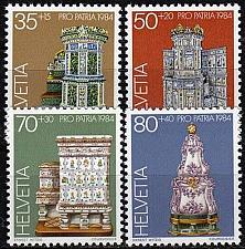 Buy SCHWEIZ SWITZERLAND [1984] MiNr 1272-75 ( **/mnh ) Pro Patria