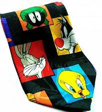 Buy Looney Tunes Mania Bugs Tweety Sylvester Marvin Daffy Road Runner Novelty Tie
