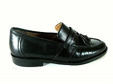 Buy Johnston Murphy Black Leather Tassels Slip On Loafers Shoes Men's 8 M (SM4)
