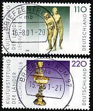Buy GERMANY BUND [2000] MiNr 2107-08 ( O/used ) Kunst