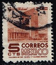 Buy Mexico #857 Modern Building; Used (0.25) (2Stars) |MEX0857-05XRS