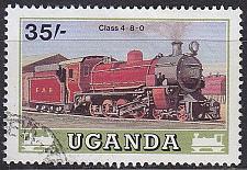 Buy UGANDA [1988] MiNr 0573 ( O/used ) Eisenbahn
