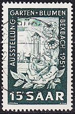 Buy GERMANY Saar [1951] MiNr 0307 ( O/used )