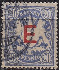Buy GERMANY Bayern Bavaria [Dienst] MiNr 0004 ( O/used )