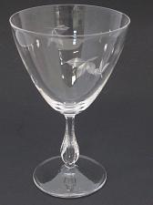 Buy bryce Goblet glass Autumn pattern Hand cut Crystal Made in USA Mt Pleasant PA