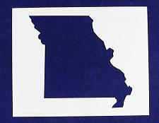 """Buy State of Missouri Stencil 14 Mil 8"""" X 10"""" Painting /Crafts/ Templates"""