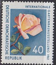 Buy GERMANY DDR [1961] MiNr 0856 ( **/mnh ) Blumen
