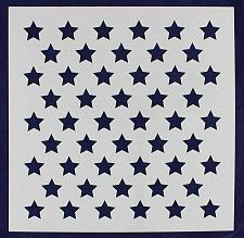 """Buy 50 Star Field Stencil 14 Mil -16""""H x 16""""W - Painting /Crafts/ Template"""