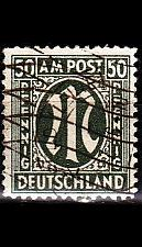 Buy GERMANY Alliiert AmBri [1945] MiNr 0032 a A ( O/used ) [01]