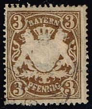 Buy Germany-Bavaria #60 Coat of Arms; Used (0.65) (1Stars) |BAY060-03XVA