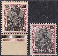 Buy GERMANY Saar [1920] MiNr 0038 x,y ( **/mnh )