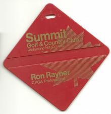Buy Summit Golf and Country Club Richmond Hill Ontario Canada Bag Tag Fob