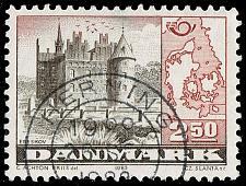 Buy Denmark #735 Egeskov Castle; Used (3Stars) |DEN0735-05XBC
