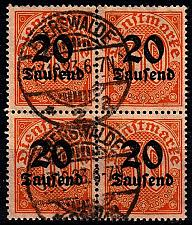 Buy GERMANY REICH Dienst [1923] MiNr 0090 ( O/used ) [01]