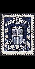 Buy GERMANY Saar [Dienst] MiNr 0040 ( O/used )