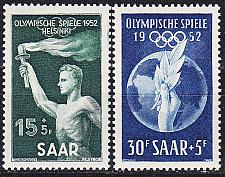 Buy GERMANY Saar [1952] MiNr 0314-15 ( */mh )