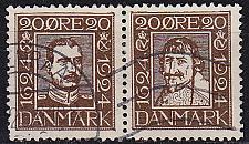 Buy DÄNEMARK DANMARK [1924] MiNr 0133+36 ( O/used )
