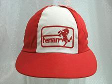 Buy Vintage CHILDREN's Cap Elastic Back Ferrari Mustang Corvette Grand Prix NOS NEW