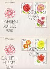 Buy GERMANY DDR [1979] MiNr 2435-40 ( Brief ) [01] Blumen