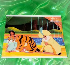 Buy Authentic Walt Disney World Aladdin 11x14 Glossy Lobby Card 2 Mnt