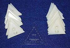 """Buy Mylar 1.5"""" Equilateral Triangle 51 Piece Set - Quilting / Sewing Templates"""