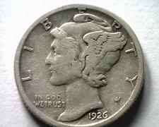 Buy 1926-S MERCURY DIME VERY FINE VF NICE ORIGINAL COIN FROM BOBS COINS FAST SHIP