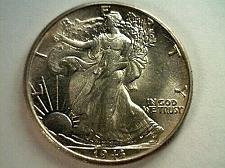 Buy 1943 WALKING LIBERTY HALF CHOICE UNCIRCULATED CH. UNC. NICE ORIGINAL COIN