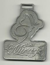 Buy Golf Bag Tag Le Mirage Golf Club Terrebonne Quebec Canada Fob Member VTG