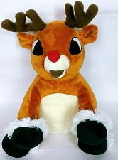 "Buy Teddy Mountain Rudolph Reindeer Christmas Plush Stuffed Animal 14.5"""