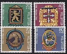 Buy SCHWEIZ SWITZERLAND [1983] MiNr 1251-54 ( **/mnh ) Pro Patria