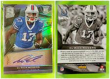Buy NFL Da'rick Rogers Buffalo bills Autographed 2013 Panini Spectra Refractor RC