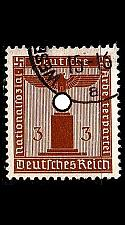 Buy GERMANY REICH Dienst [1938] MiNr 0145 ( O/used )