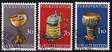 Buy LIECHTENSTEIN [1973] MiNr 0587-89 ( O/used ) Kunst