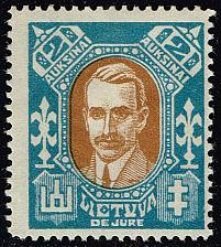 Buy Lithuania #117B Pranas Dovidaitis; Unused (2Stars)  LIT0117B-01XRP