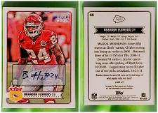 Buy NFL Brandon Flowers Kansas City Chiefs 2012 Topps Magic Autographed Rookie Mnt