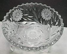 Buy Hand Cut Glass bowl Antique blown blank