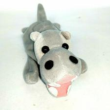 "Buy Zangeen Gray Hippopotamus Bean Bag Plush 1996 Stuffed Animal 8"""