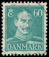 Buy Denmark #287 King Christian X; Used (4Stars) |DEN0287-03XRS