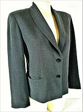 Buy GARFIELD & MARKS womens petite Sz 4 L/S dark gray 2 button LINED jacket (A8)P