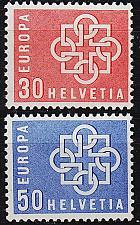 Buy SCHWEIZ SWITZERLAND [1959] MiNr 0679-80 ( **/mnh ) CEPT