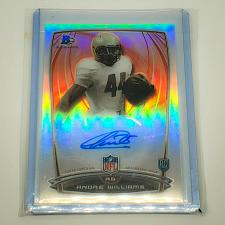 Buy NFL ANDRE WILLIAMS AUTOGRAPHED 2014 BOWMAN CHROME ROOKIE REFRACTOR MNT