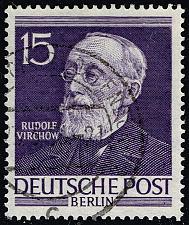 Buy Germany #9N89 Rudolf Virchow; Used (3Stars) |DEU9N089-01XRP