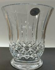 Buy Hand Cut glass vase hand polished 24% lead crystal custom customize
